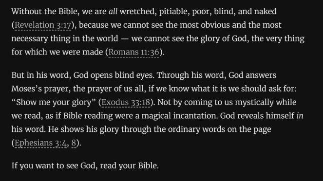 See God