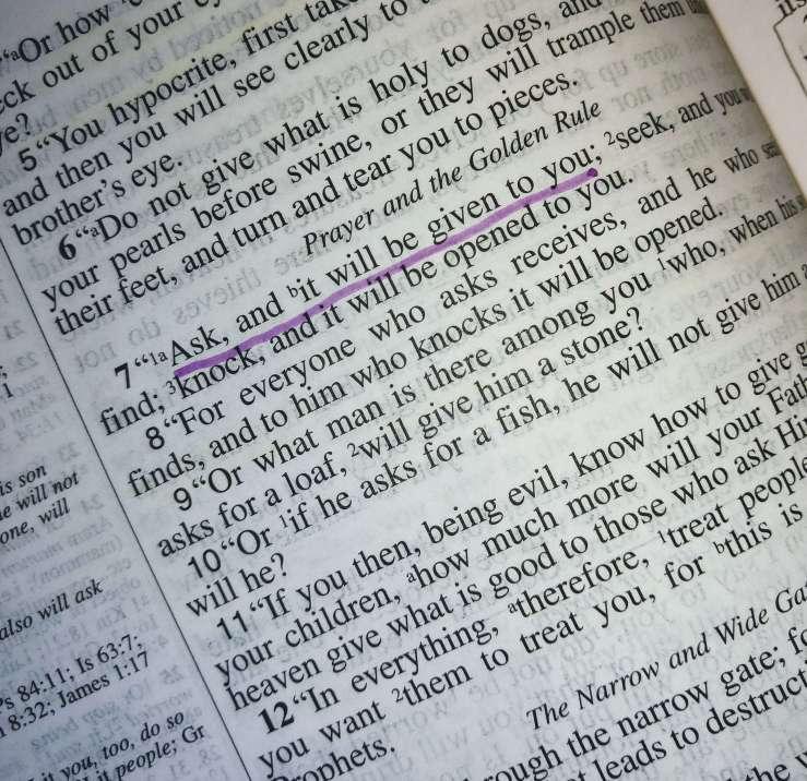 Ask-Pray-Hear Him-Jeremiah's Menu