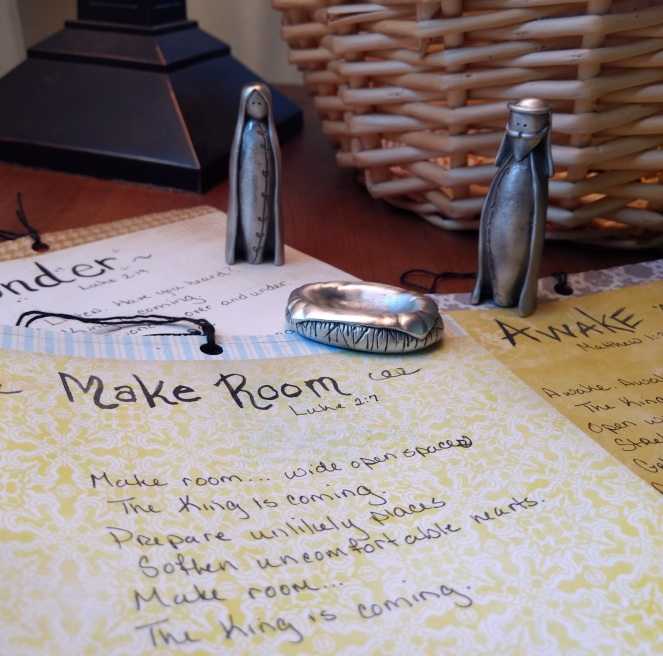 Jeremiah's Menu-Make Room-Advent