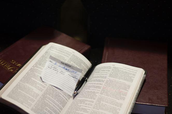 Interpretation-Fundamentalist-Jeremiahs Menu-Holy Spirit