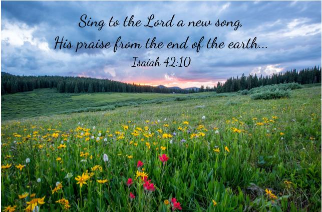 Sing-Praise-New song-Jeremiah's Menu